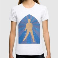 St Elvis Womens Fitted Tee Ash Grey SMALL
