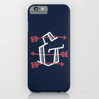 iPhone & iPod Case featuring Ampersand with Arrows by Thomas Ramey