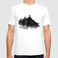 The Knight's Watch Mens Fitted Tee White SMALL