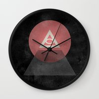 Illuminati Wall Clock