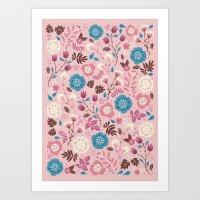 Pretty Pink Art Print
