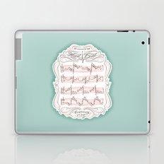 The Sound of My Heart Beat Laptop & iPad Skin