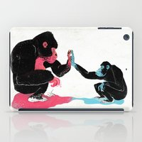 Monkey See Monkey Do iPad Case
