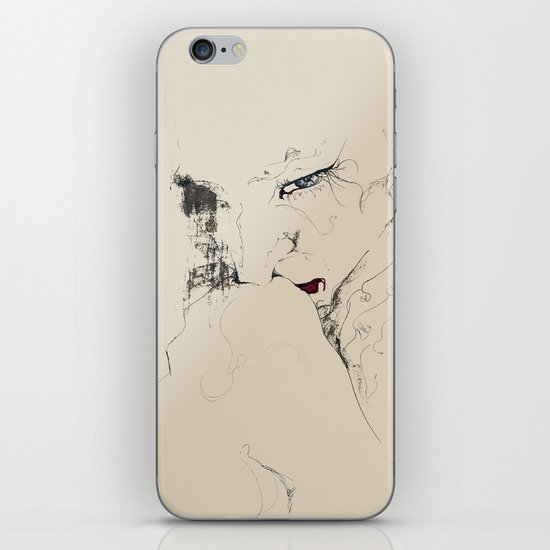 hug iPhone & iPod Skin