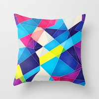 Color Language Throw Pillow