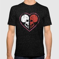 MADly in love with you  (Mutual Assured Destruction) Mens Fitted Tee Tri-Black SMALL