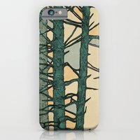 iPhone & iPod Case featuring Green Trees by Pat Butler