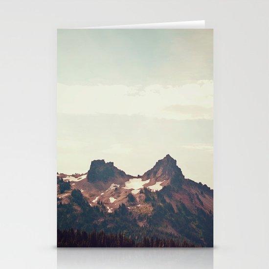 Mountain Ridge Morning Stationery Card