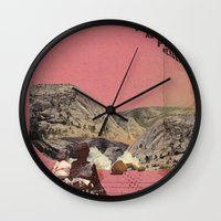 The future a time to reminisce. (mixed media) part 2 Wall Clock