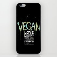 VEGAN iPhone & iPod Skin