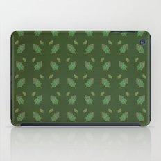 leaf pattern iPad Case