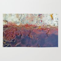 entropic floral dreams Rug