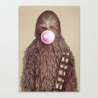 Big Chew Canvas Print