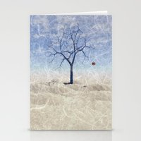 When The Last Leaf Falls Stationery Cards