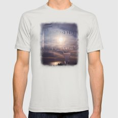 Intervention 25 Mens Fitted Tee Silver SMALL