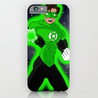 iPhone & iPod Case featuring Go Green or Go Home! by JEDArts by J. Eric Dunlap