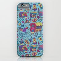 Caravan Pattern iPhone 6 Slim Case