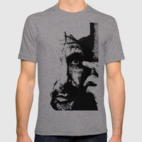 Al Pacino Mens Fitted Tee Tri-Grey SMALL