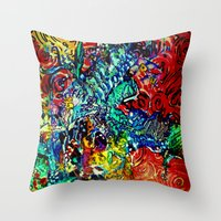 The Van Gogh Tree Throw Pillow