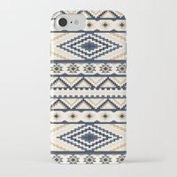 aztec iPhone & iPod Cases featuring AZTEC by Oksana Smith
