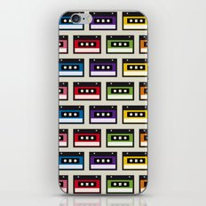 Mix tapes iPhone & iPod Skin