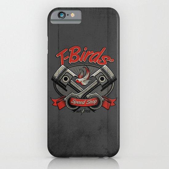 T-Birds' Speed Shop iPhone & iPod Case