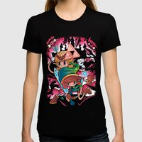 Piece Keepers Womens Fitted Tee Black SMALL