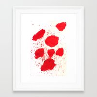 SPLATZ Framed Art Print
