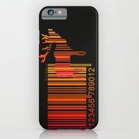 iPhone & iPod Case featuring deer by mark ashkenazi