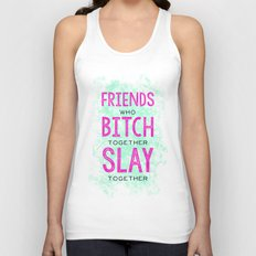 Slay Together Unisex Tank Top