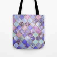 Royal Purple, Mauve & In… Tote Bag