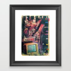 spiderman... Framed Art Print