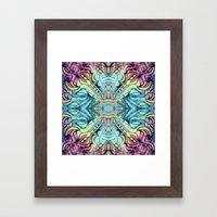 Rainbow Pukkalele Framed Art Print