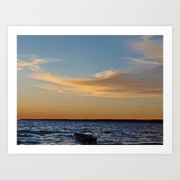 Sylvan Beach Art Print