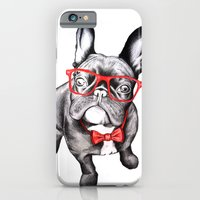 iPhone Cases featuring Happy Dog by 13 Styx