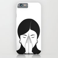 iPhone & iPod Case featuring Modern woman by Karthik M