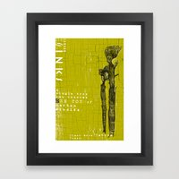 CARBON DIOXIDE SINKS Framed Art Print