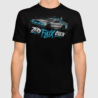Zero Flux Given Mens Fitted Tee Black SMALL