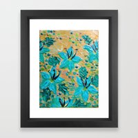 BLOOMING BEAUTIFUL - Mod… Framed Art Print