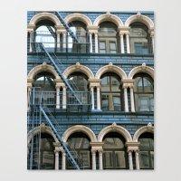 Architecture New York  Canvas Print