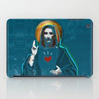 Jesus Christ: Daily Bread - Blue iPad Case
