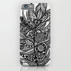 Zen Tangle Feather iPhone 6s Slim Case