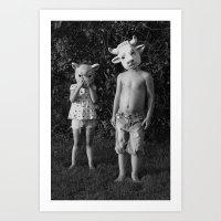 Art Print featuring Children  by Gnarleston