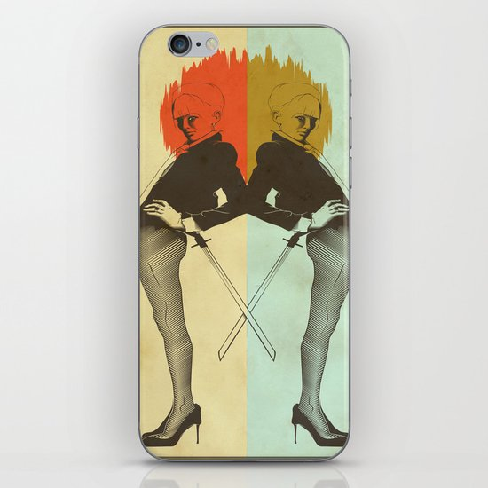 Samurai Girl iPhone & iPod Skin