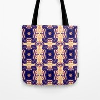 bubble coral mandala Tote Bag