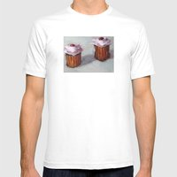 Cupcakes Mens Fitted Tee White SMALL