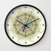 Morris Artful Artichoke Wall Clock