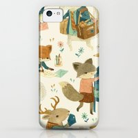 iPhone 5c Cases featuring Critter Post by Teagan White