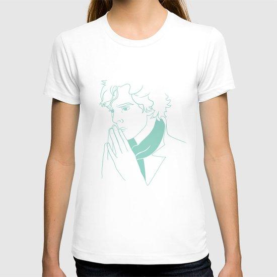 sherlock h T-shirt
