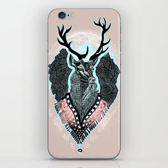 Wind:::Deer iPhone & iPod Skin
